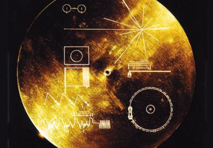 NASA Voyager carried this 'message from Earth' disks